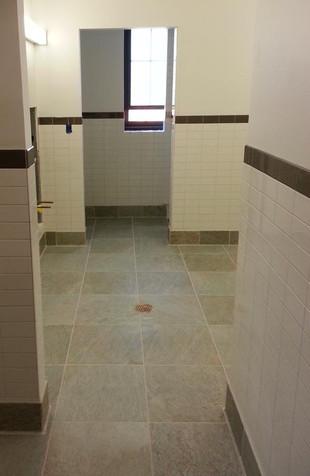 Gang bathroom Ft Benning