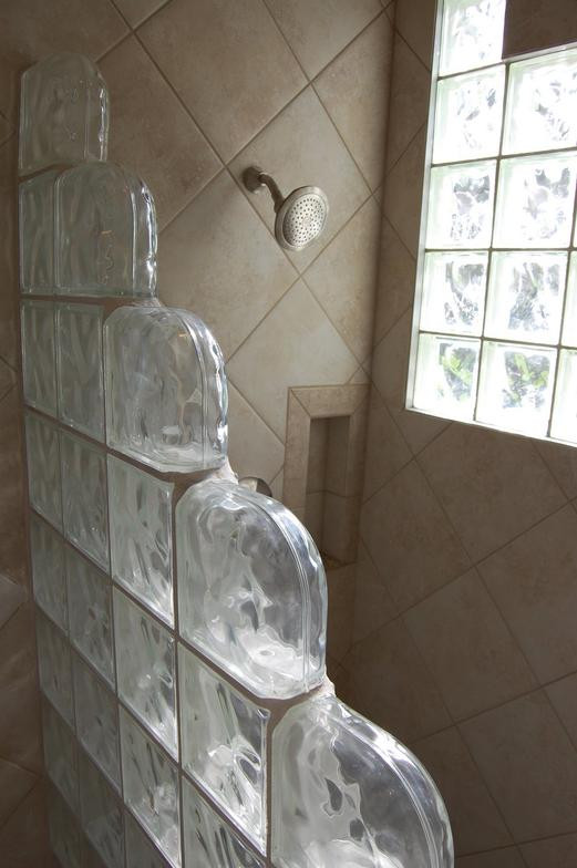 12x12 on diagonal in master shower