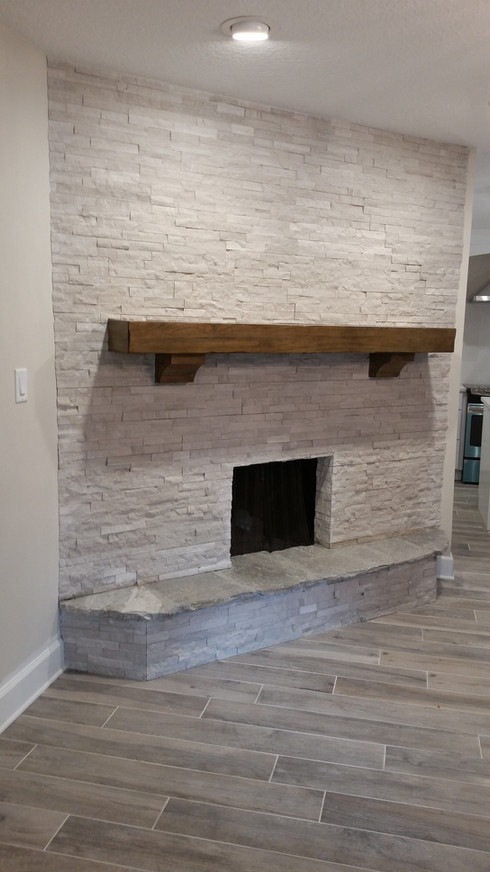 Ledger stone completed