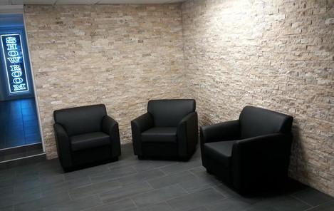 Ledger stone walls