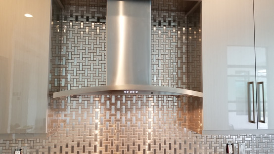 Metal mosaics from DalTile
