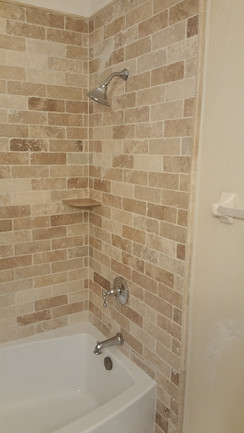 3x6 square edge travertine