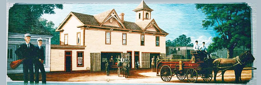The Old Firehouse Mural