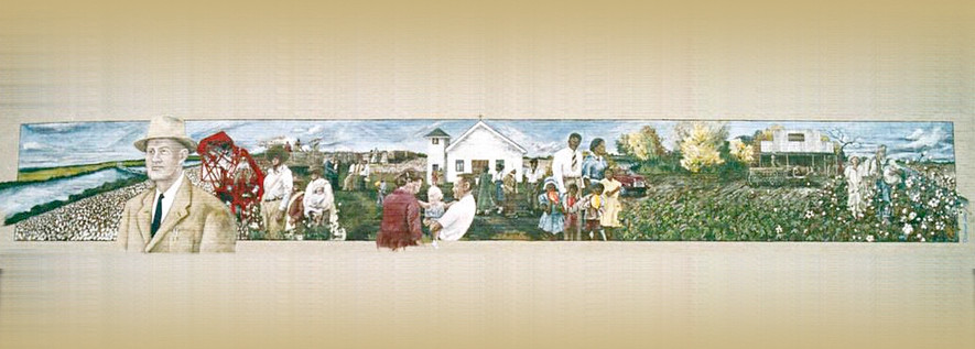 The Delta Heritage Mural