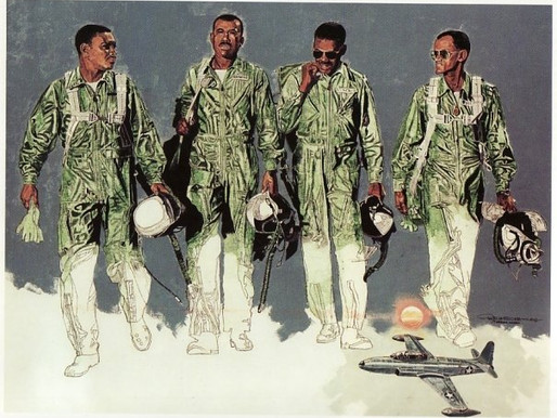 The Art of Tuskegee Airman Roy LaGrone
