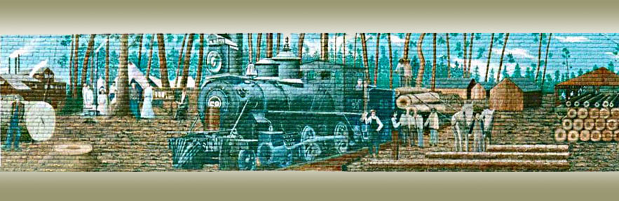 The Timber Mural
