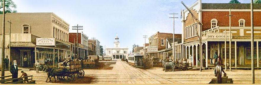 Main Street 1888 Mural