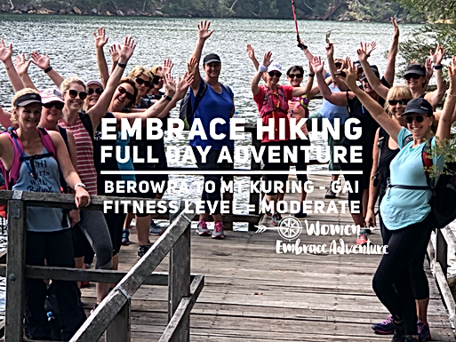 Embrace Hiking-Full Day Adventure, Berowra to Mt Kuring-gai NSW