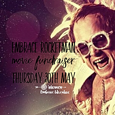 Embrace 'Rocketman' Movie FUNdraiser