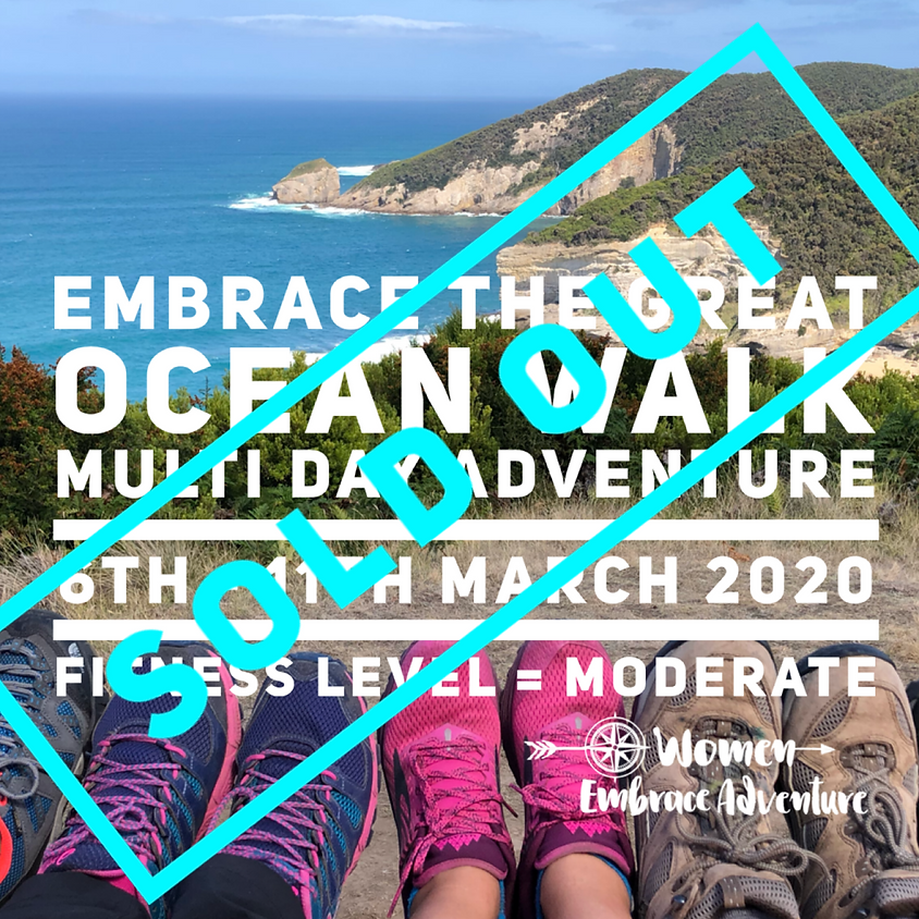 SOLD OUT Embrace the Great Ocean Road - Multi day Walk