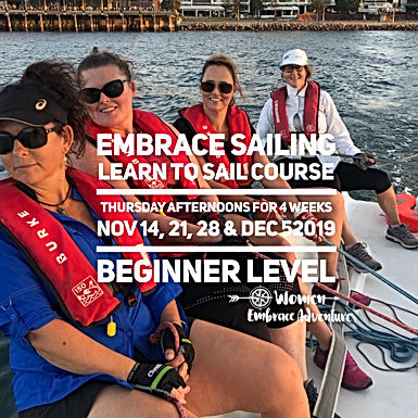 Embrace Sailing | 4 Week Learn To Sail Course