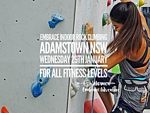 Embrace Indoor Rock Climbing