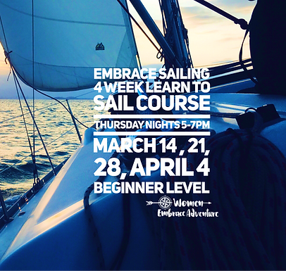 Embrace Sailing   4 Week Learn To Sail Course SOLD OUT