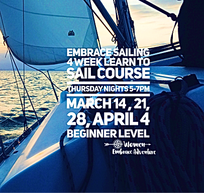 Embrace Sailing | 4 Week Learn To Sail Course SOLD OUT