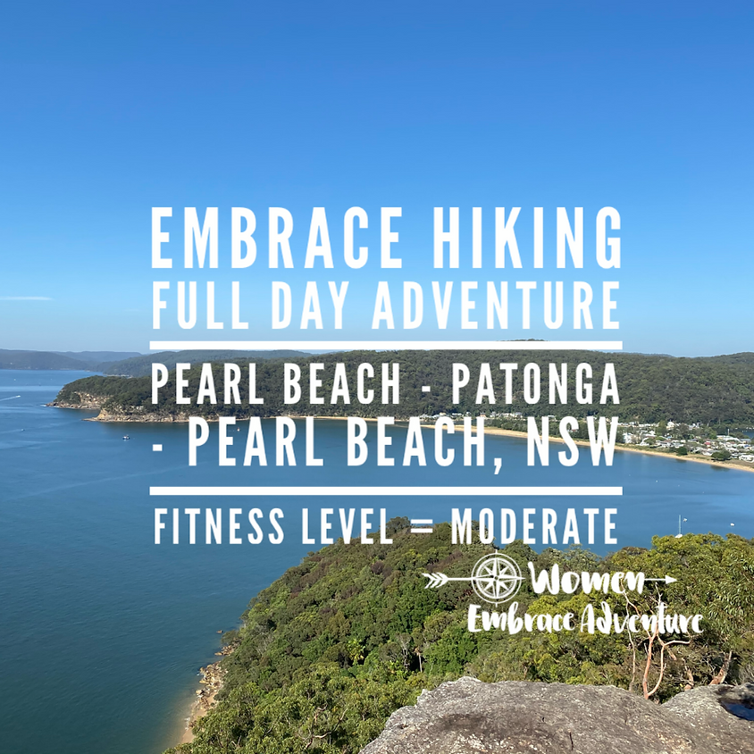 SOLD OUT Embrace Hiking, Pearl Beach - Patonga - Pearl Beach NSW