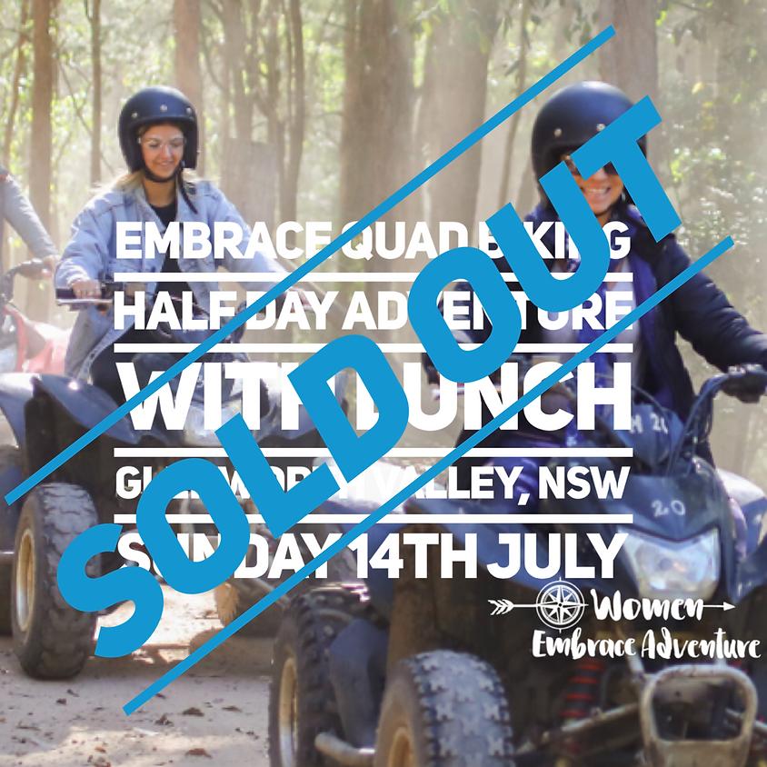Embrace Quad Biking - Glenworth Valley NSW