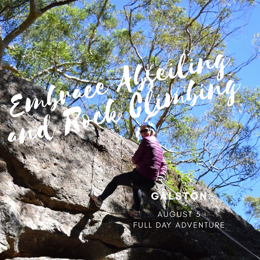 Embrace Abseiling and Rock Climbing Full Day Adventure  - Galston, NSW