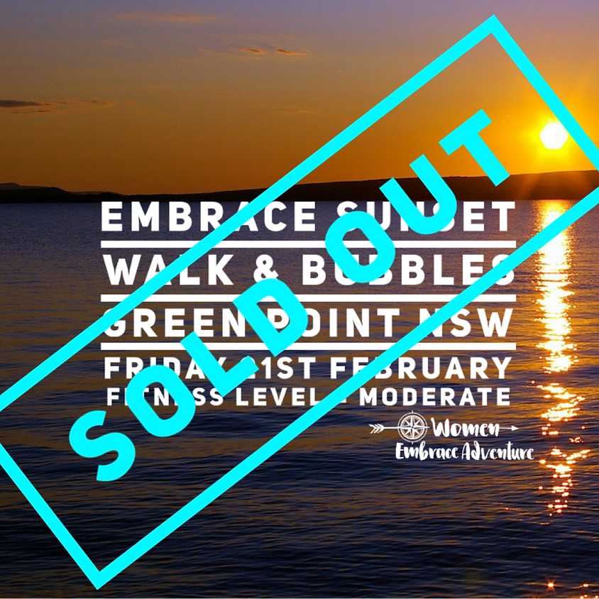 Embrace Sunset Walk and Bubbles-Green Point, NSW