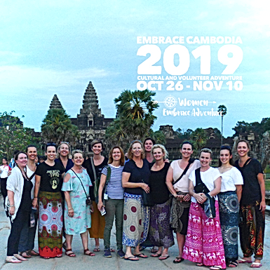 Embrace Cambodia Cultural and Volunteer 16 Day Adventure