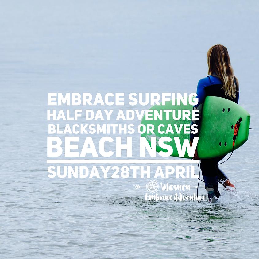 Embrace Surfing - Half Day Beginner Adventure