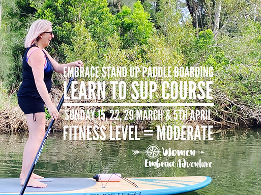 Embrace Learn to SUP Four Week Course