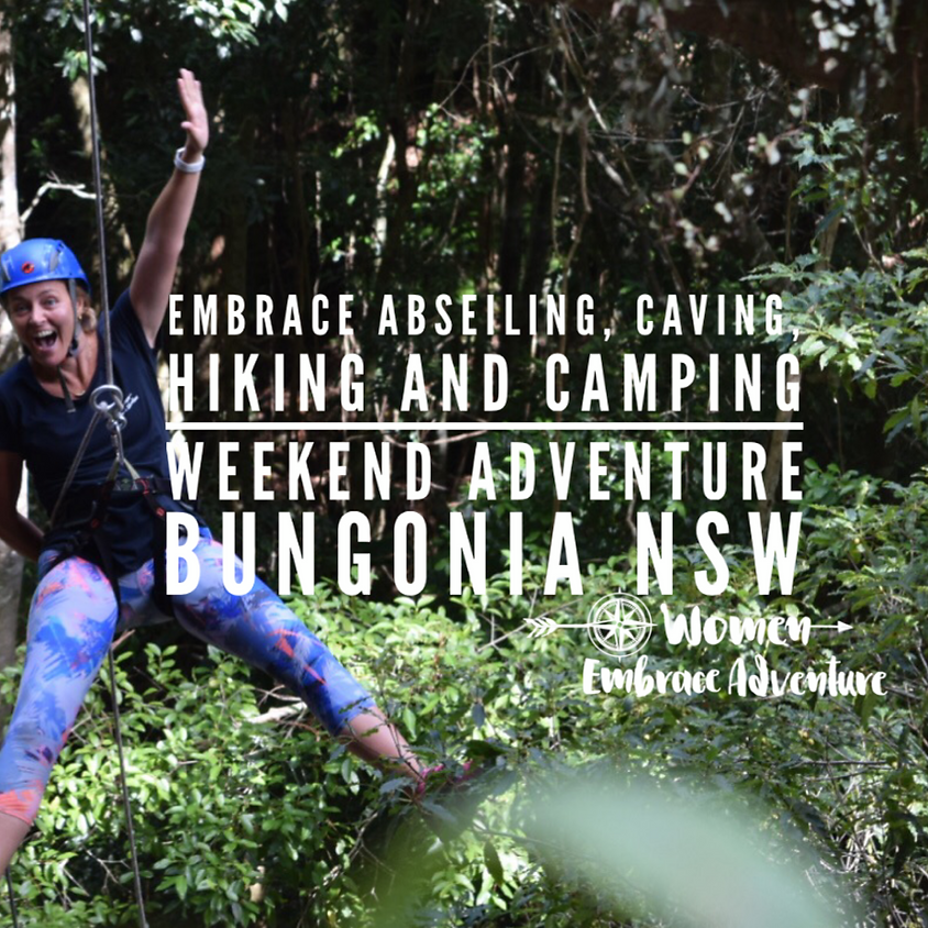 Embrace Hiking, Abseiling and Caving -  Bungonia Adventure Weekend