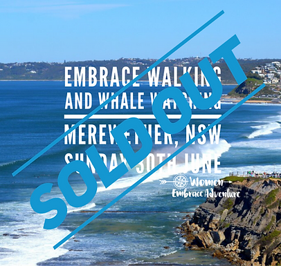 SOLD OUT Embrace Walking, Whale Watching and Wine