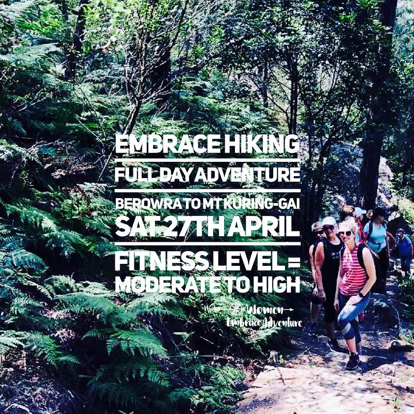 Embrace Hiking - Full Day Adventure, Berowra to Mt Kuring-gai NSW