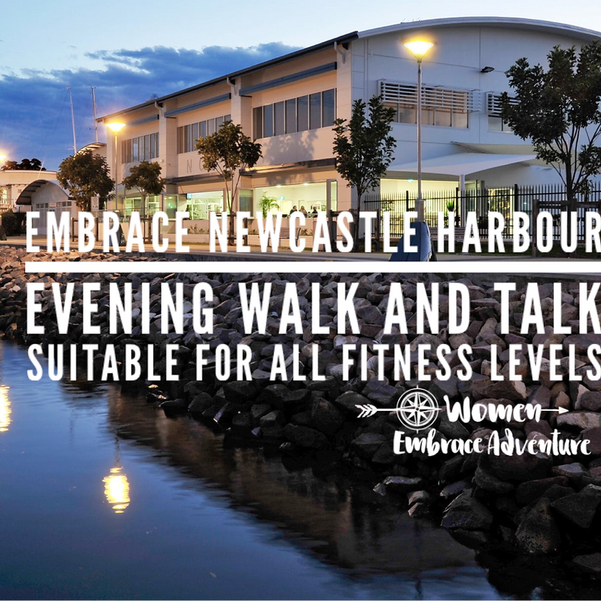 Embrace Newcastle Harbour Evening Walk and Wine  (1)