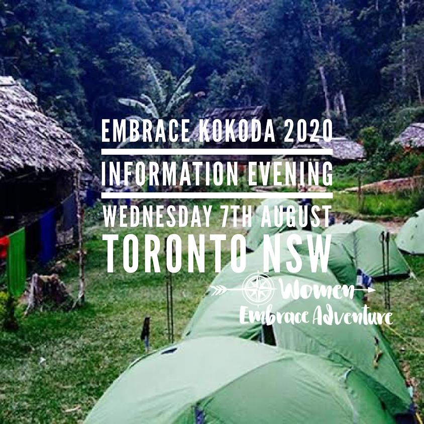 Embrace Kokoda 2020 - Information Evening