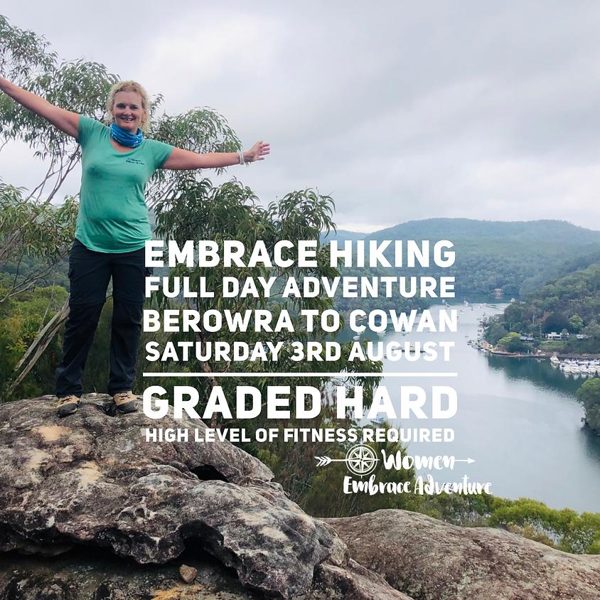 Embrace Hiking - Full Day Adventure, Berowra to Cowan NSW