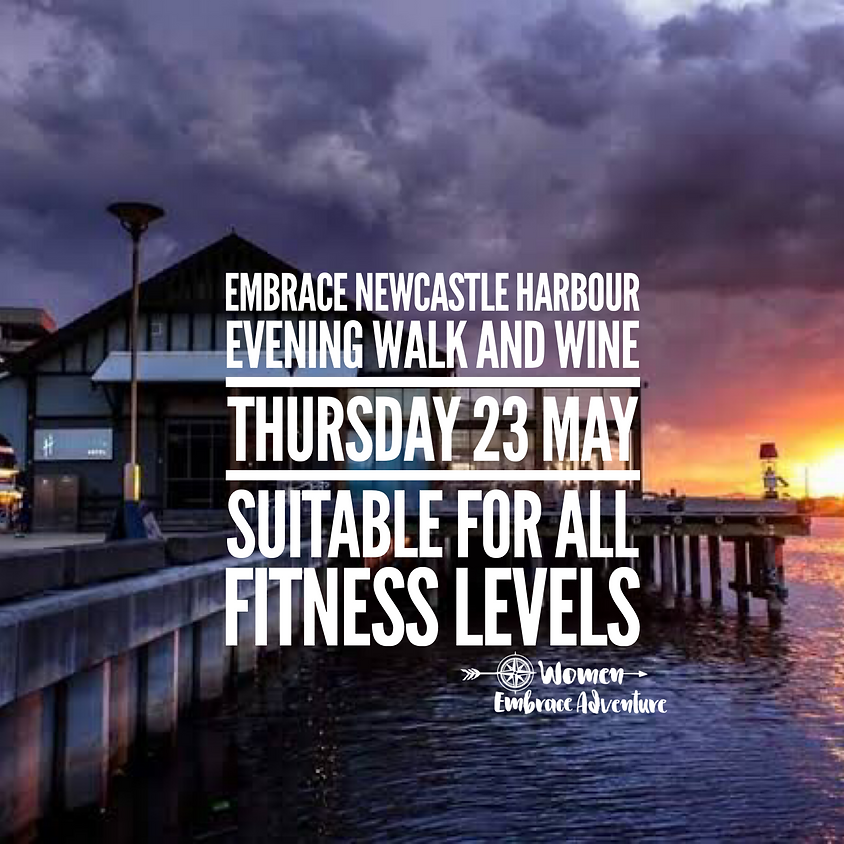 Embrace Newcastle Harbour Evening Walk and Wine