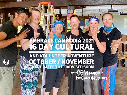 Embrace Cambodia 16 Day Adventure 2020