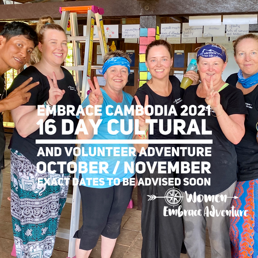Embrace Cambodia 16 Day Adventure 2020