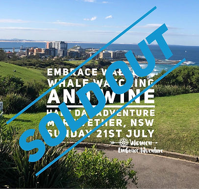 Embrace Walking, Whale Watching and Wine