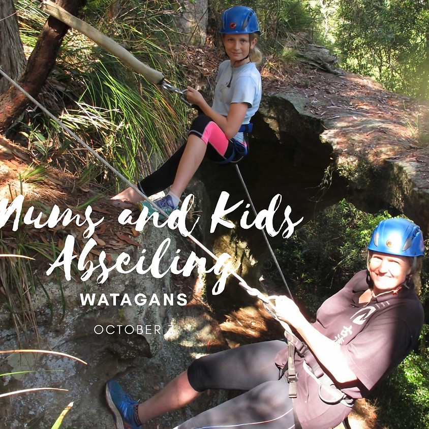 Mums and Kids Abseiling Half Day Adventure - Watagans
