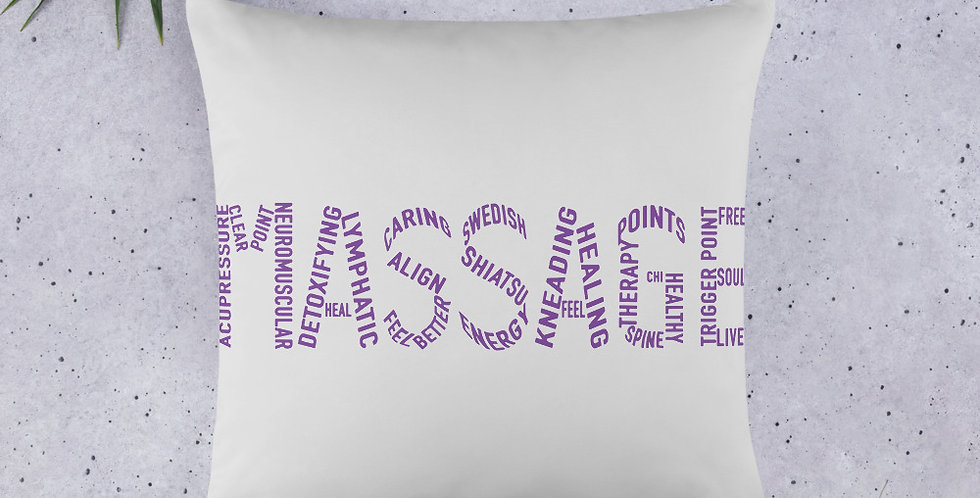 Massage Words Basic Pillow