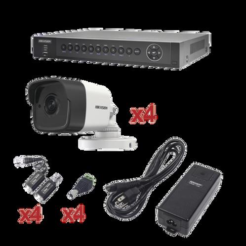 Sistema 4 Canales TurboHD 3 Megapixel