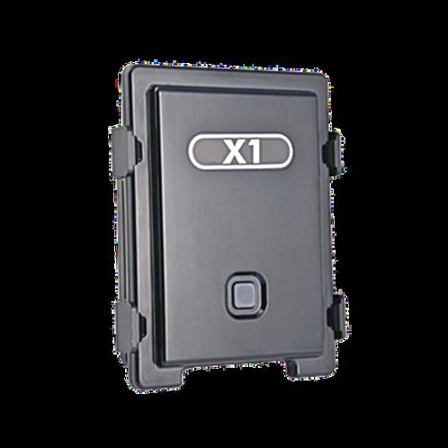 Localizador para caja de trailer con batería de larga duración.