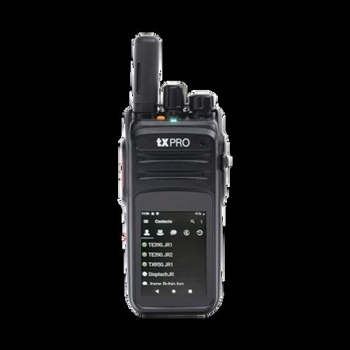 """Radio 4G LTE IP66, Pantalla 2.4"""",Cámara Frontal y Trasera,Compatible con NXRADIO"""