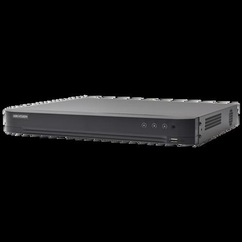 DVR 8 Megapixel / 4 Canales TURBOHD + 4 Canales IP / 1 Bahía de Disco Duro