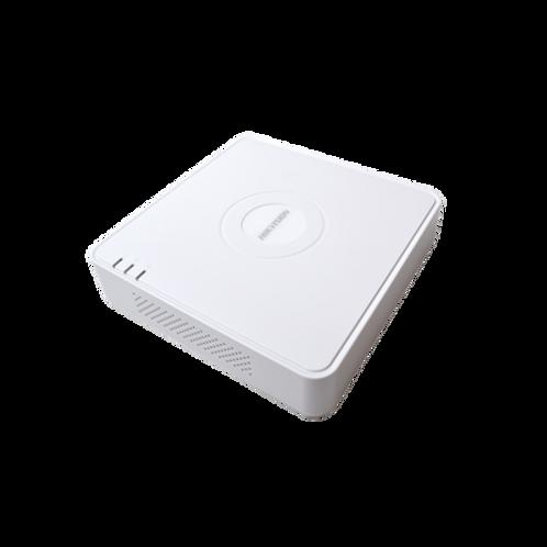 DVR 1080P Lite/8 Canales TURBOHD + 2 Canales IP/1 Bahía de Disco Duro/H.264+