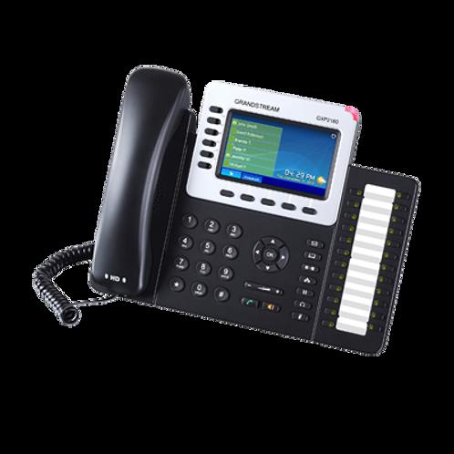 Teléfono IP PoE Empresarial para 6 línias