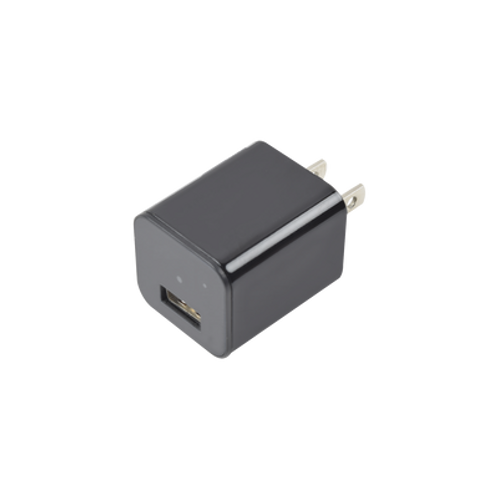 Cámara Oculta en Cargador de Pared / Memoria de 8GB / Resolución 1080P /