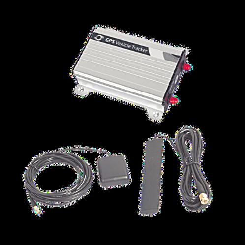 Localizador vehicular vía celular con múltiples entradas y salidas dígitales