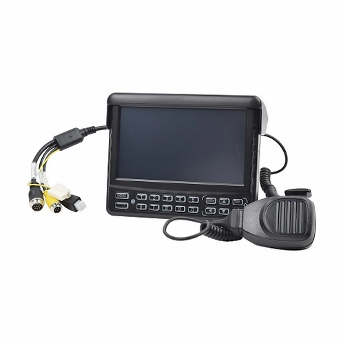 """Panel de control dáctilar multifuncional con monitor de 7"""" para MDVR móvil XMR"""