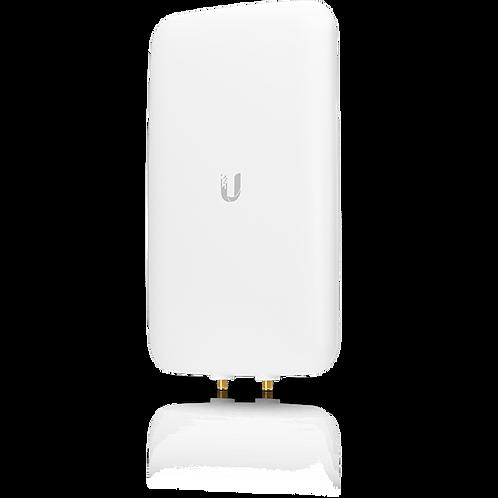 Antena sectorial UniFi, doble banda con apertura de 90° en 2.4 GHz