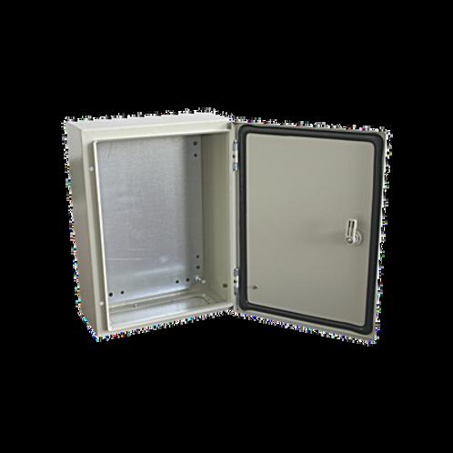 Gabinete de Acero IP66 Uso en Intemperie (400 x 600 x 200 mm).