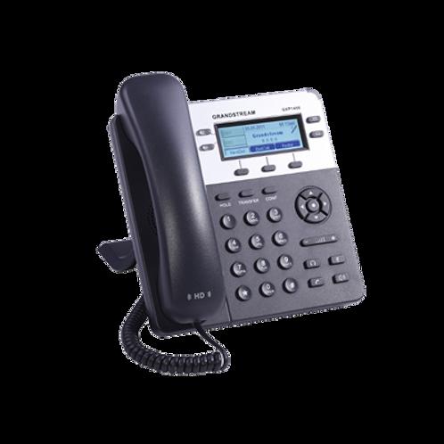 Teléfono IP PoE af, Empresarial para 2 líneas