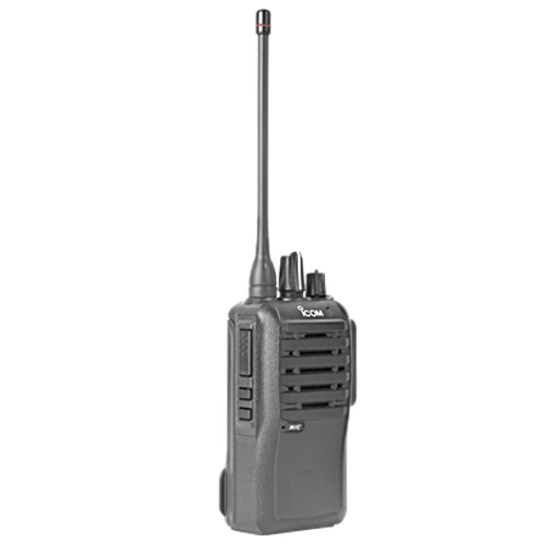 Radio portátil analógico en rango de frecuencia 450-512 MHz, 4 W de potencia